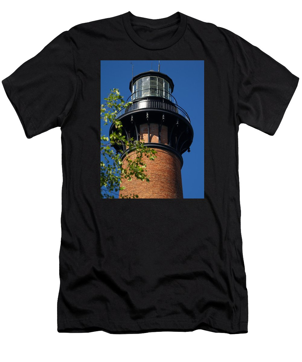 Ann Keisling Men's T-Shirt (Athletic Fit) featuring the photograph Currituck by Ann Keisling