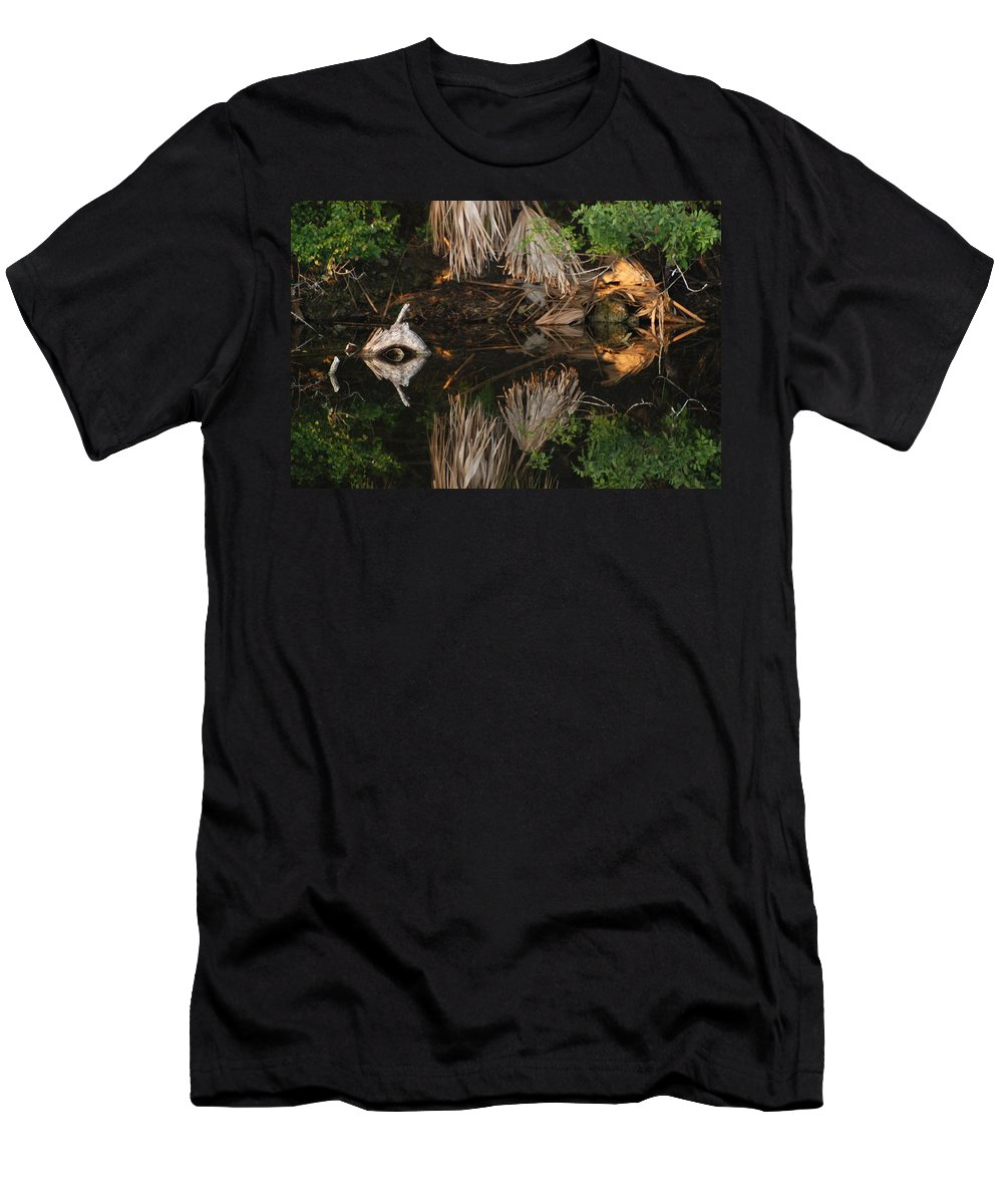 Sunset T-Shirt featuring the photograph Cyclops In Color by Rob Hans