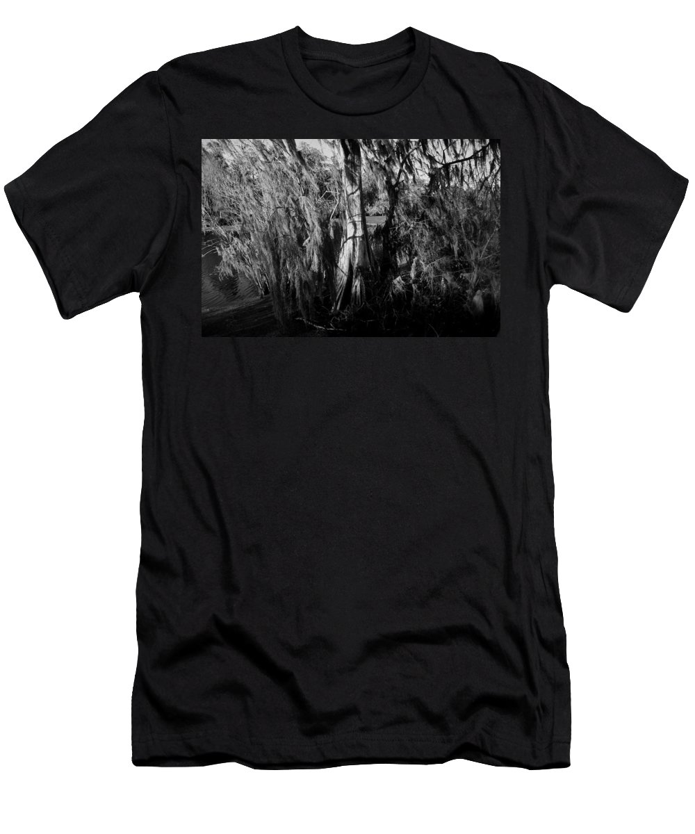 Cypress Tree Men's T-Shirt (Athletic Fit) featuring the photograph Cypress Tree by David Lee Thompson