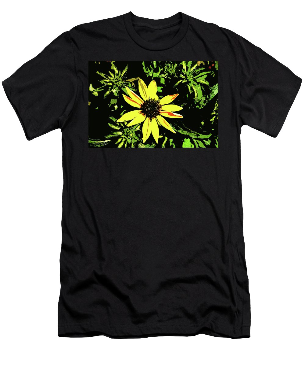 Daisy Bell Men's T-Shirt (Athletic Fit) featuring the photograph Daisy Bell by Susan Vineyard