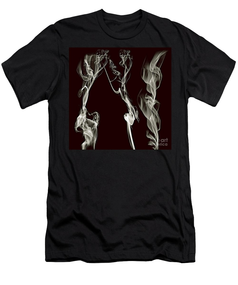 Clay Men's T-Shirt (Athletic Fit) featuring the digital art Dancing Apparitions by Clayton Bruster
