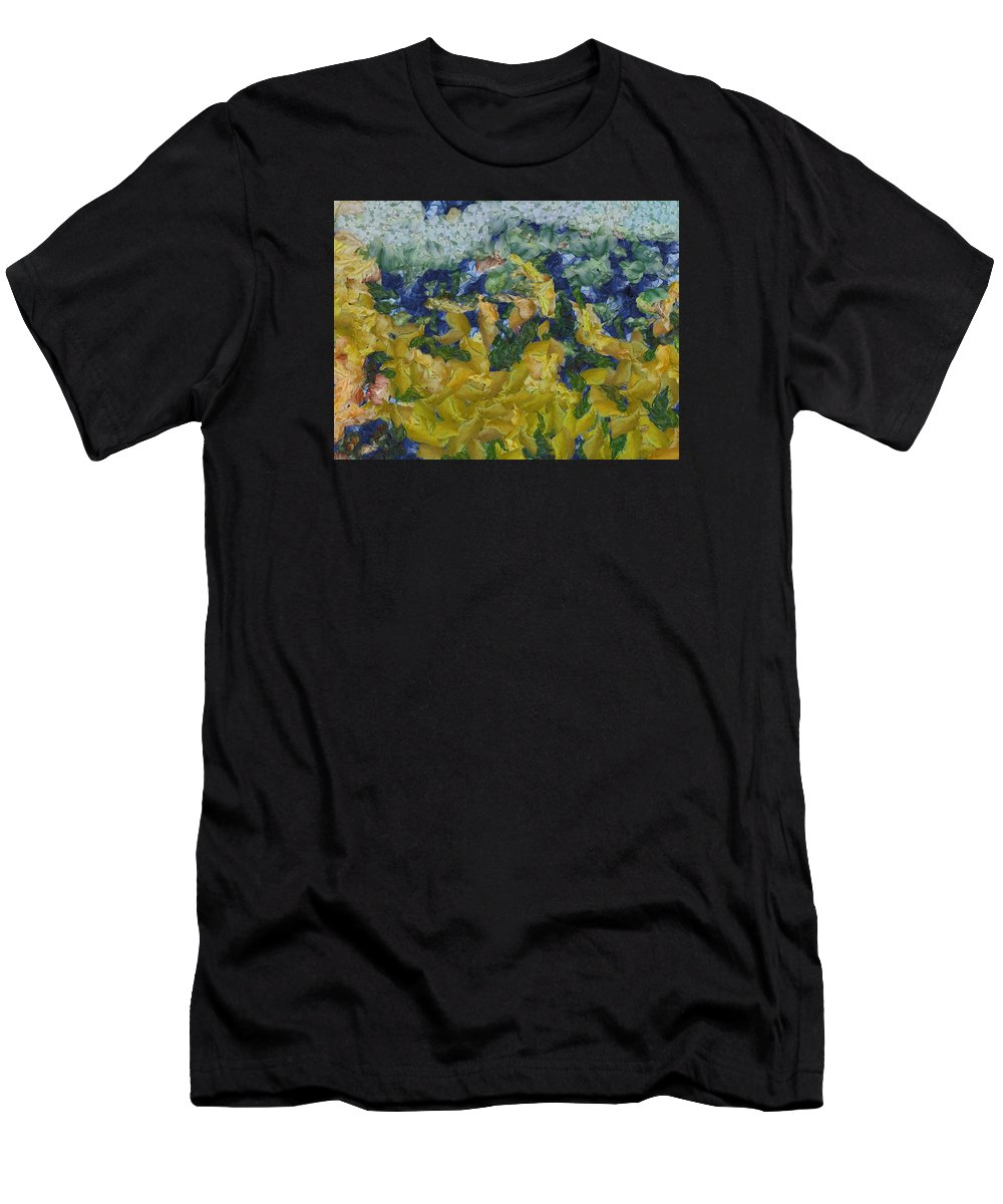 Abstract Men's T-Shirt (Athletic Fit) featuring the photograph Dancing Divas by Ashish Agarwal