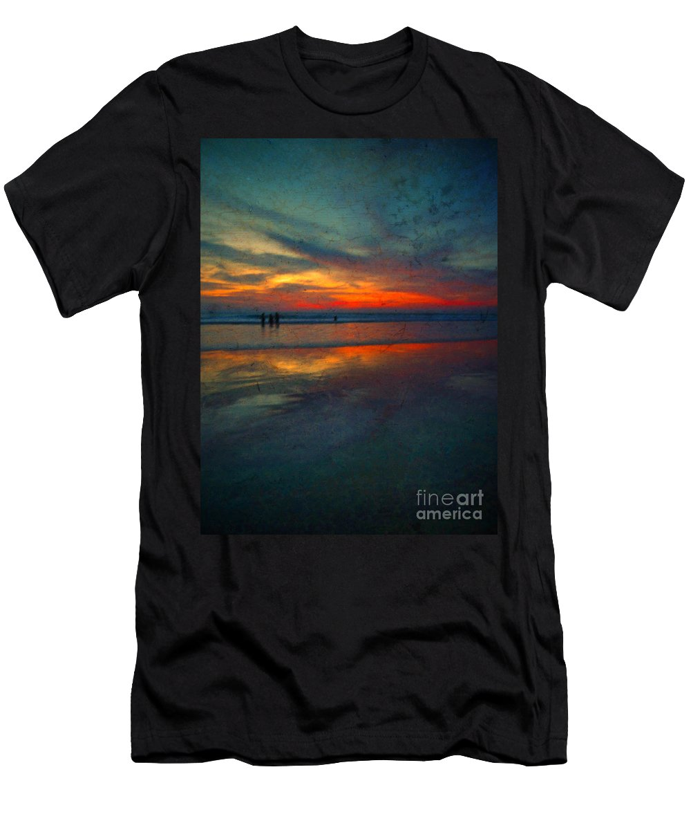 Texture Men's T-Shirt (Athletic Fit) featuring the photograph Dark Memories by Tara Turner