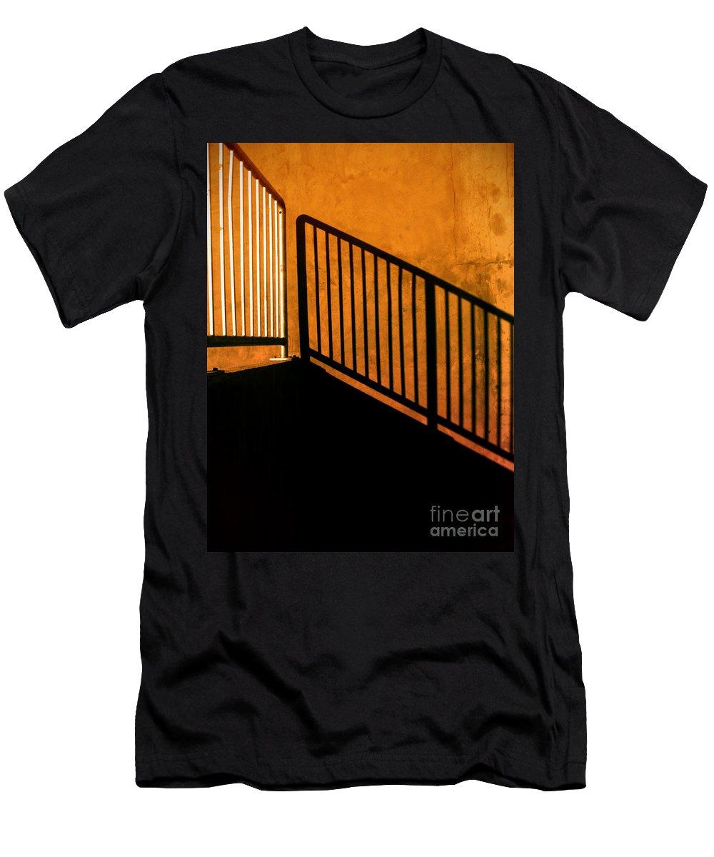 Urban Men's T-Shirt (Athletic Fit) featuring the photograph Dark Shadows by Tara Turner