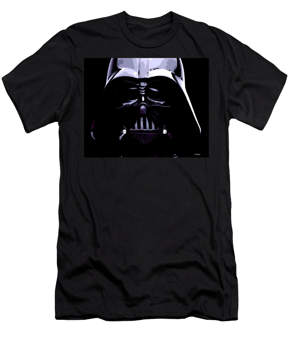 Darth Vader T-Shirt featuring the photograph Dark Side by George Pedro