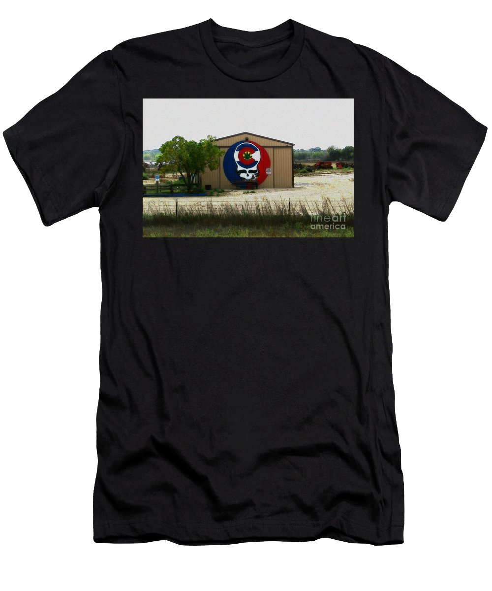 Men's T-Shirt (Athletic Fit) featuring the photograph Dead Heads In Colorado by Kelly Awad