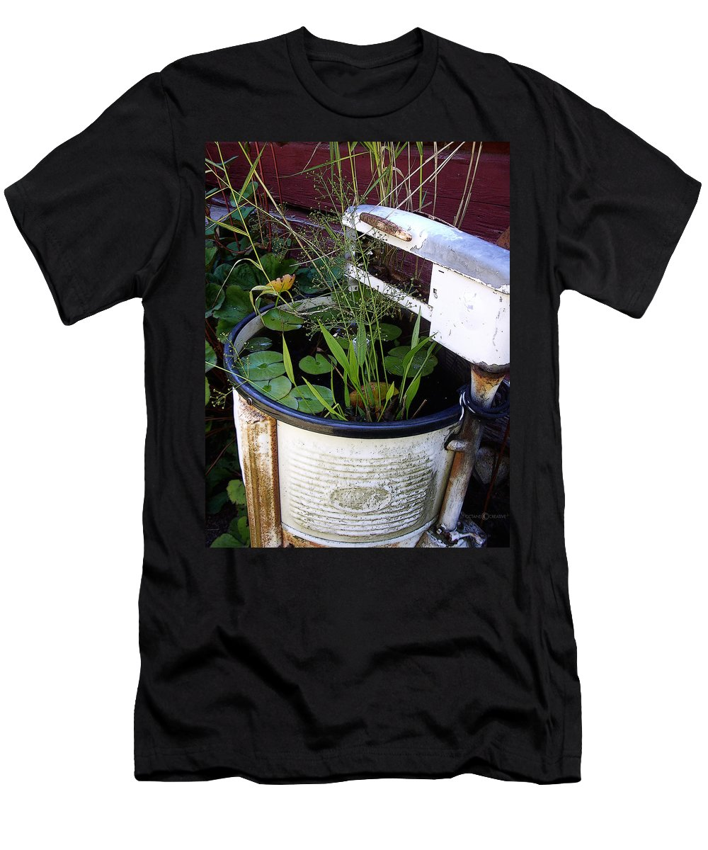 Wringer Men's T-Shirt (Athletic Fit) featuring the photograph Dead Wringer by Tim Nyberg