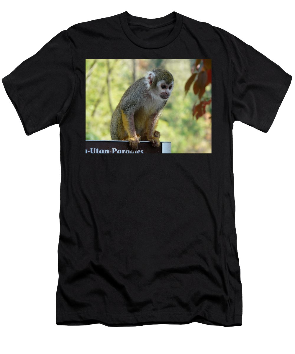 Animal Men's T-Shirt (Athletic Fit) featuring the photograph Deceptive Paradise by Valerie Ornstein