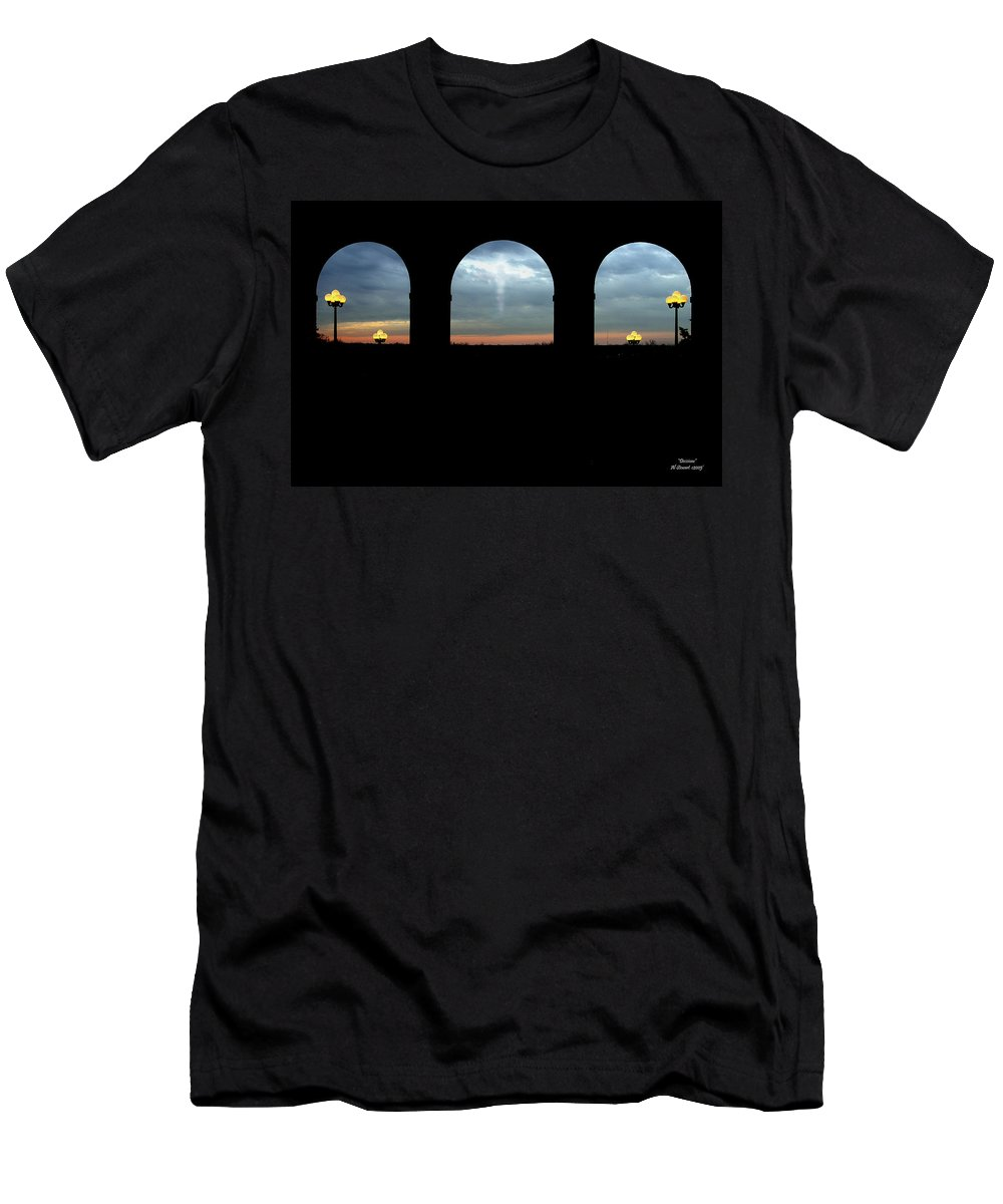 Arch Men's T-Shirt (Athletic Fit) featuring the photograph Decisions by Albert Stewart