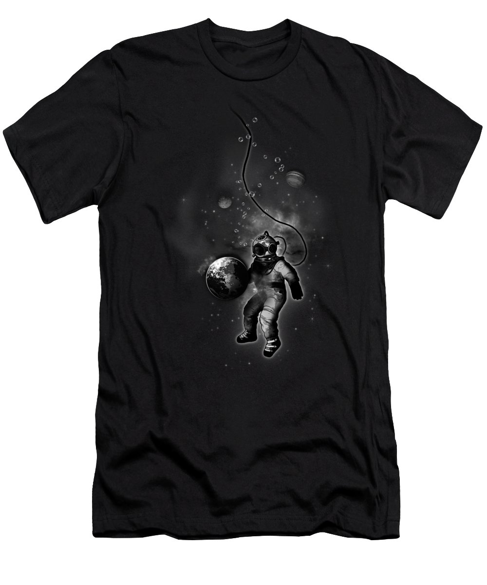 Astronauts Slim Fit T-Shirts
