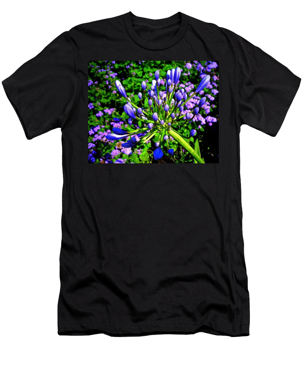 Flower Men's T-Shirt (Athletic Fit) featuring the photograph Delightful ... by Juergen Weiss