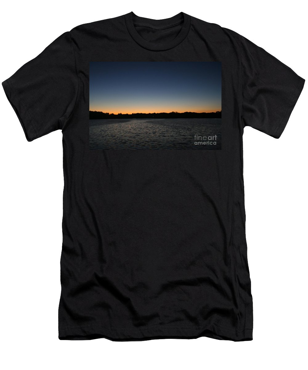 Wisconsin Men's T-Shirt (Athletic Fit) featuring the photograph Descending by Jamie Lynn