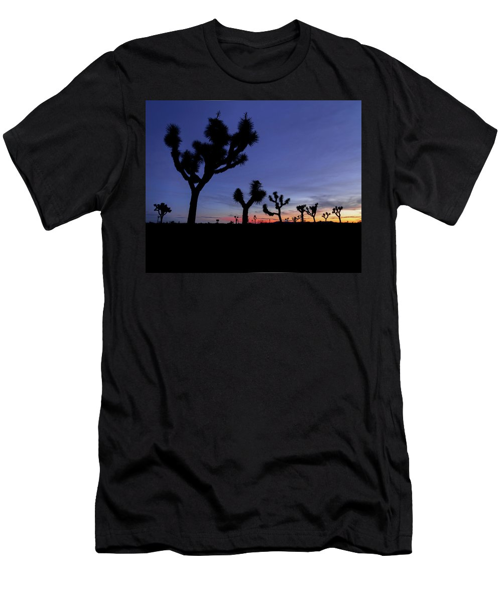 Desert Men's T-Shirt (Athletic Fit) featuring the photograph Desert Trip II by ChrisAntoniniPhotography