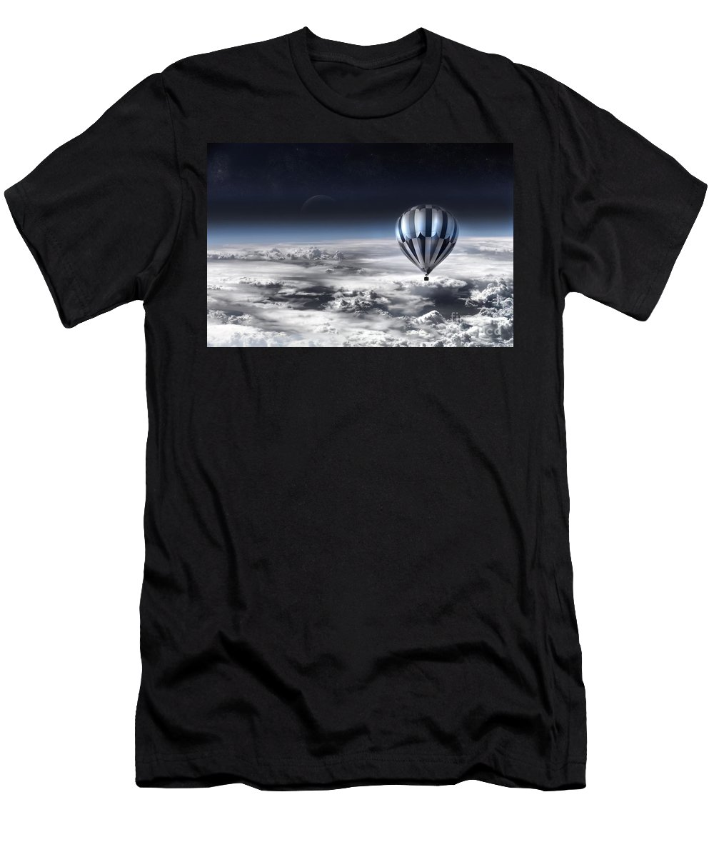 Sky Men's T-Shirt (Athletic Fit) featuring the photograph Destiny by Jacky Gerritsen