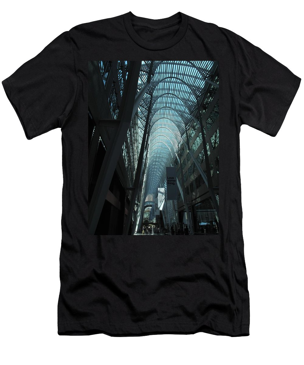 Skylight Men's T-Shirt (Athletic Fit) featuring the photograph Detail by Ian MacDonald