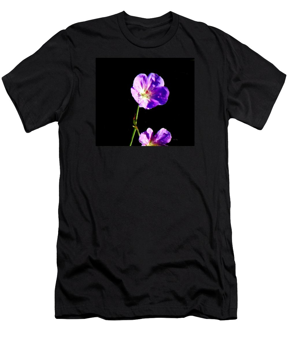 Autumn Men's T-Shirt (Athletic Fit) featuring the photograph Dew Kissed Morning by Wild Thing