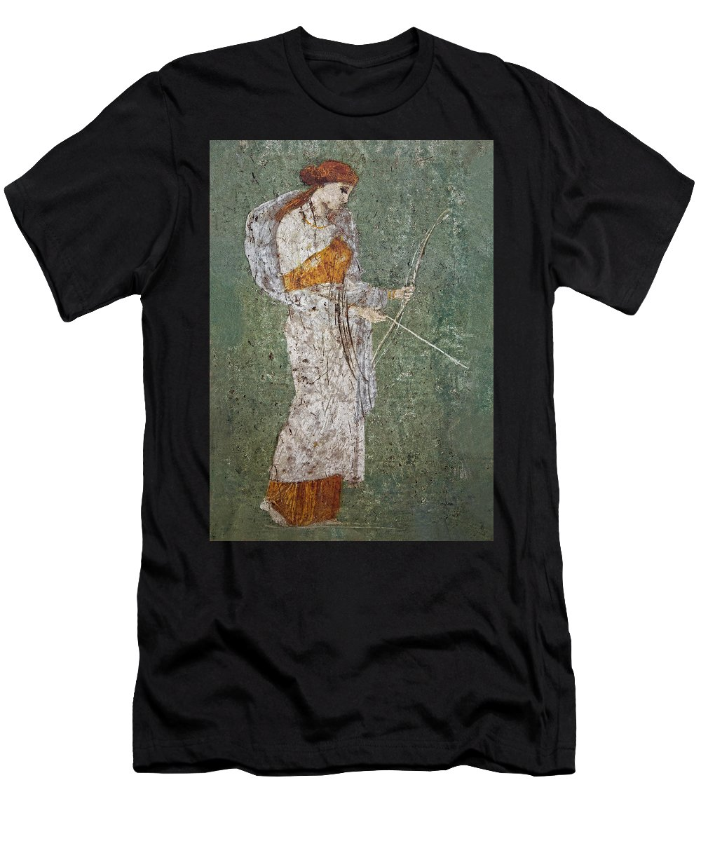 Fresco Men's T-Shirt (Athletic Fit) featuring the photograph Diana by Joachim G Pinkawa