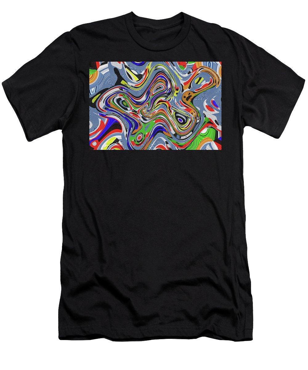 Digital Painting Men's T-Shirt (Athletic Fit) featuring the digital art Digital Painting,,#0200 Eetw1 by Tom Janca