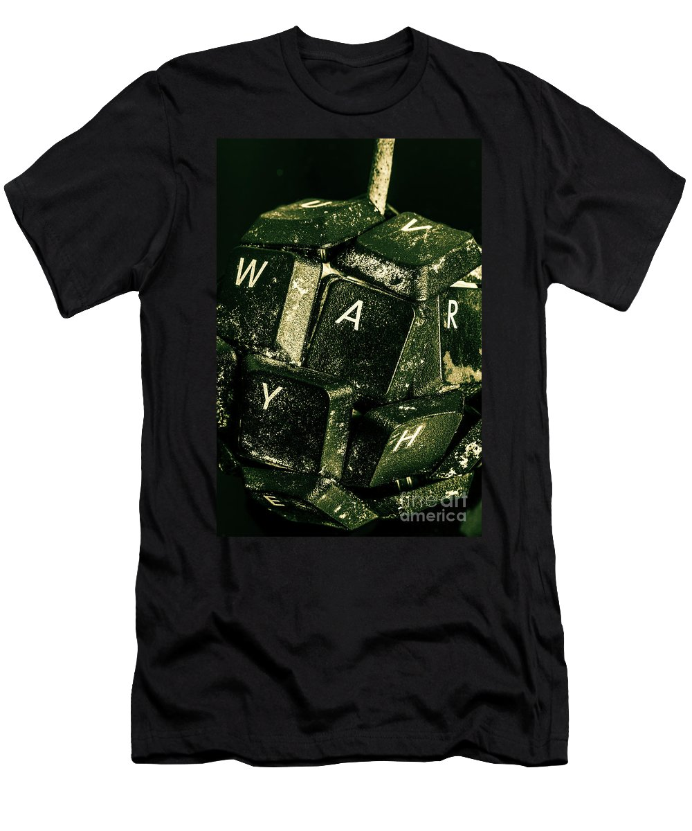 War T-Shirt featuring the photograph Disarming Of Weaponiised Words by Jorgo Photography - Wall Art Gallery