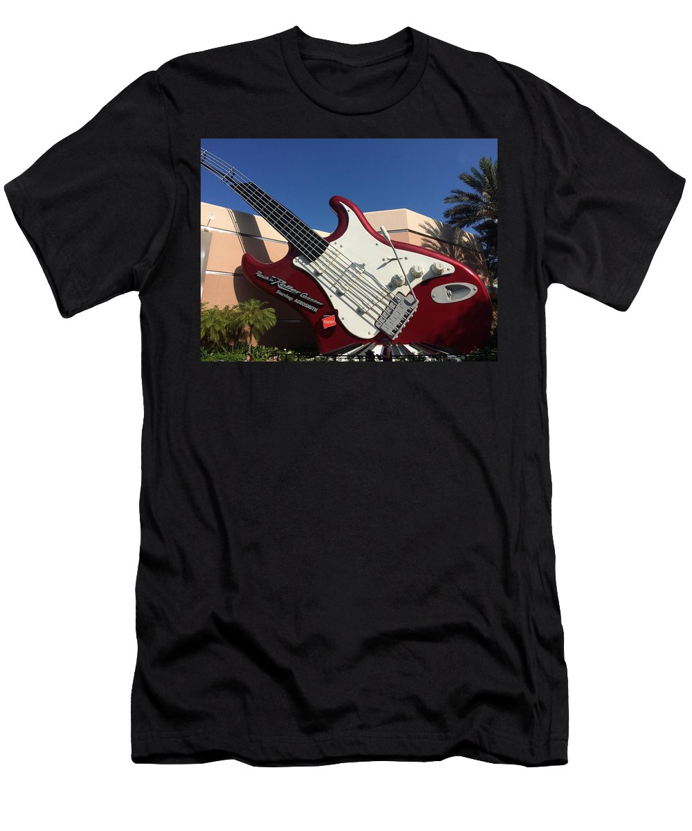 Disney World Men's T-Shirt (Athletic Fit) featuring the photograph Disney World by Jackie Russo