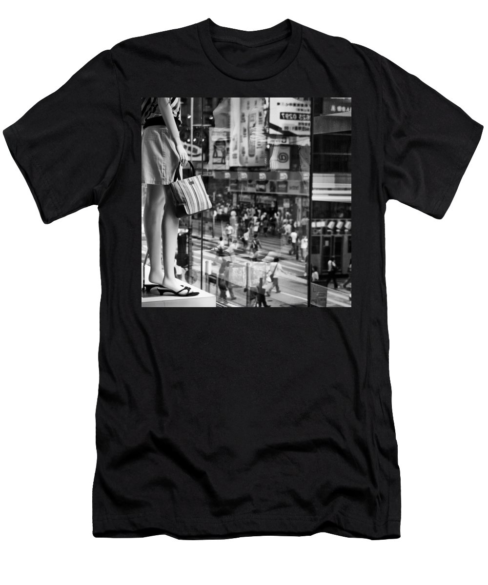 Mannequin Men's T-Shirt (Athletic Fit) featuring the photograph Display by Dave Bowman