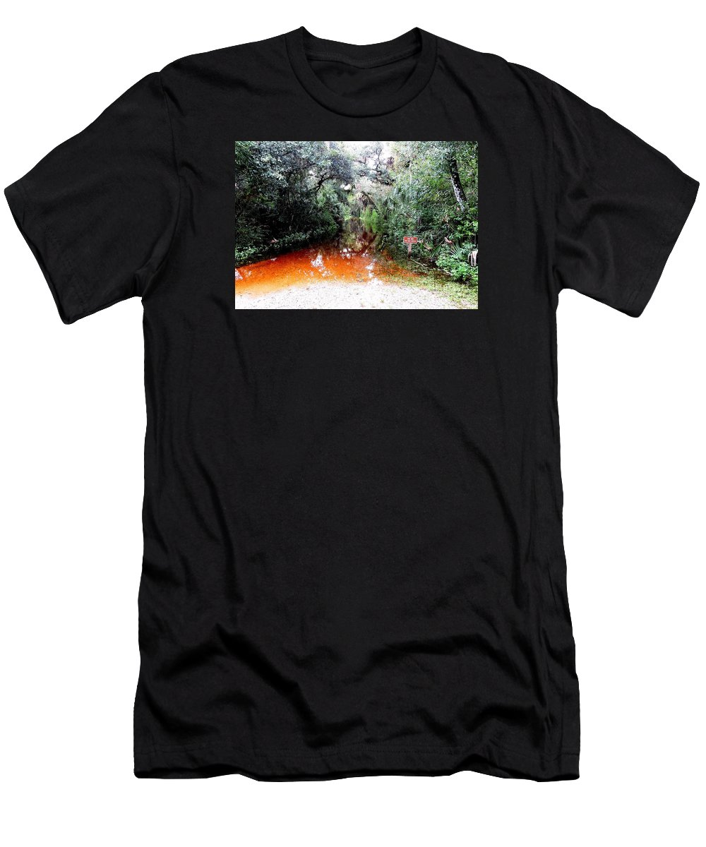 One Way T-Shirt featuring the photograph Do Not Enter by Beth Williams