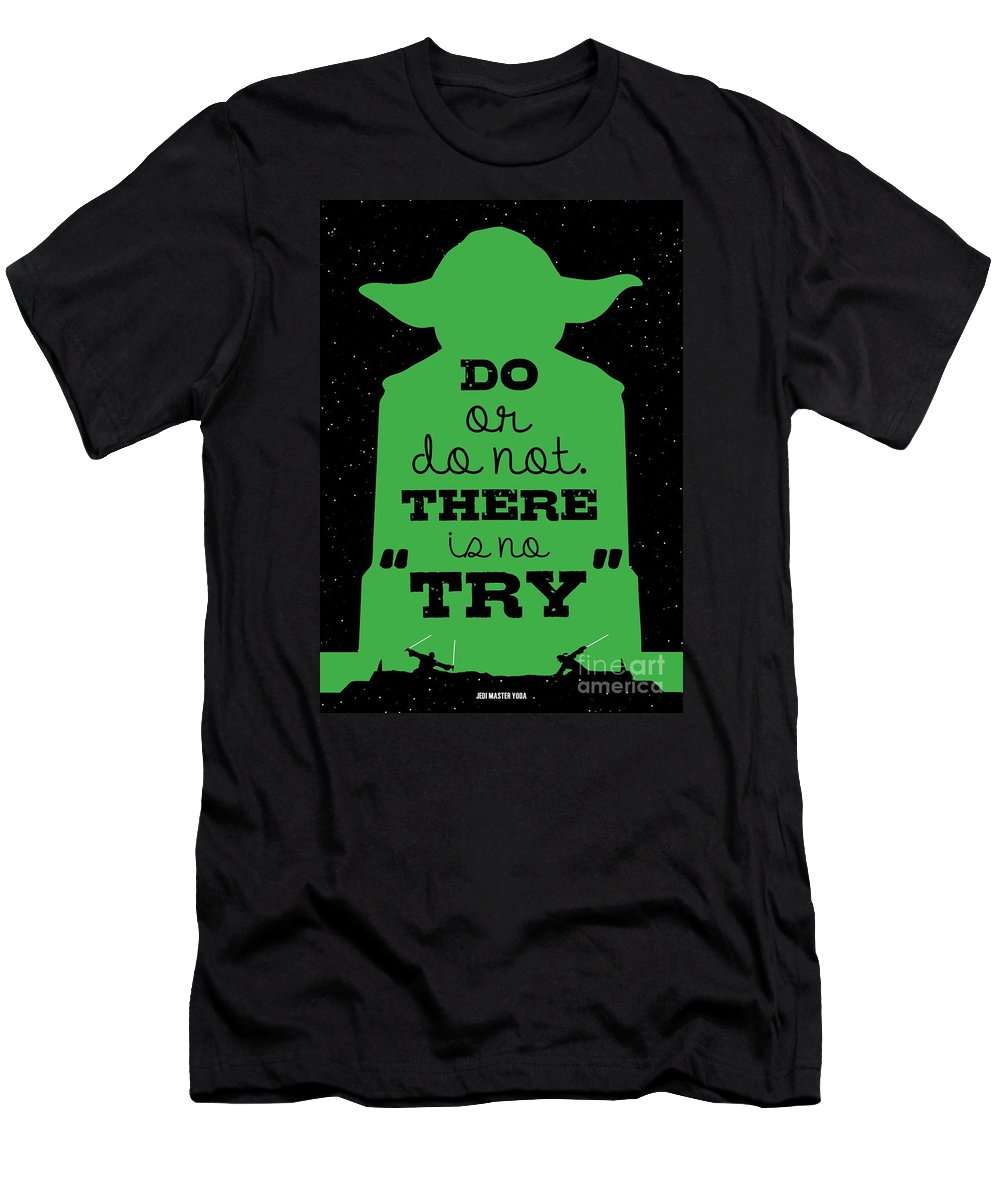 Do Or Do Not There Is No Try Yoda Movie Minimalist Quotes Poster