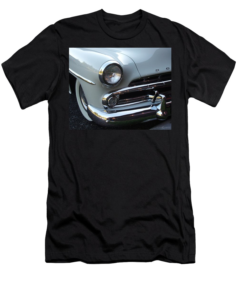 Dodge Men's T-Shirt (Athletic Fit) featuring the photograph Dodge by Tim Nyberg