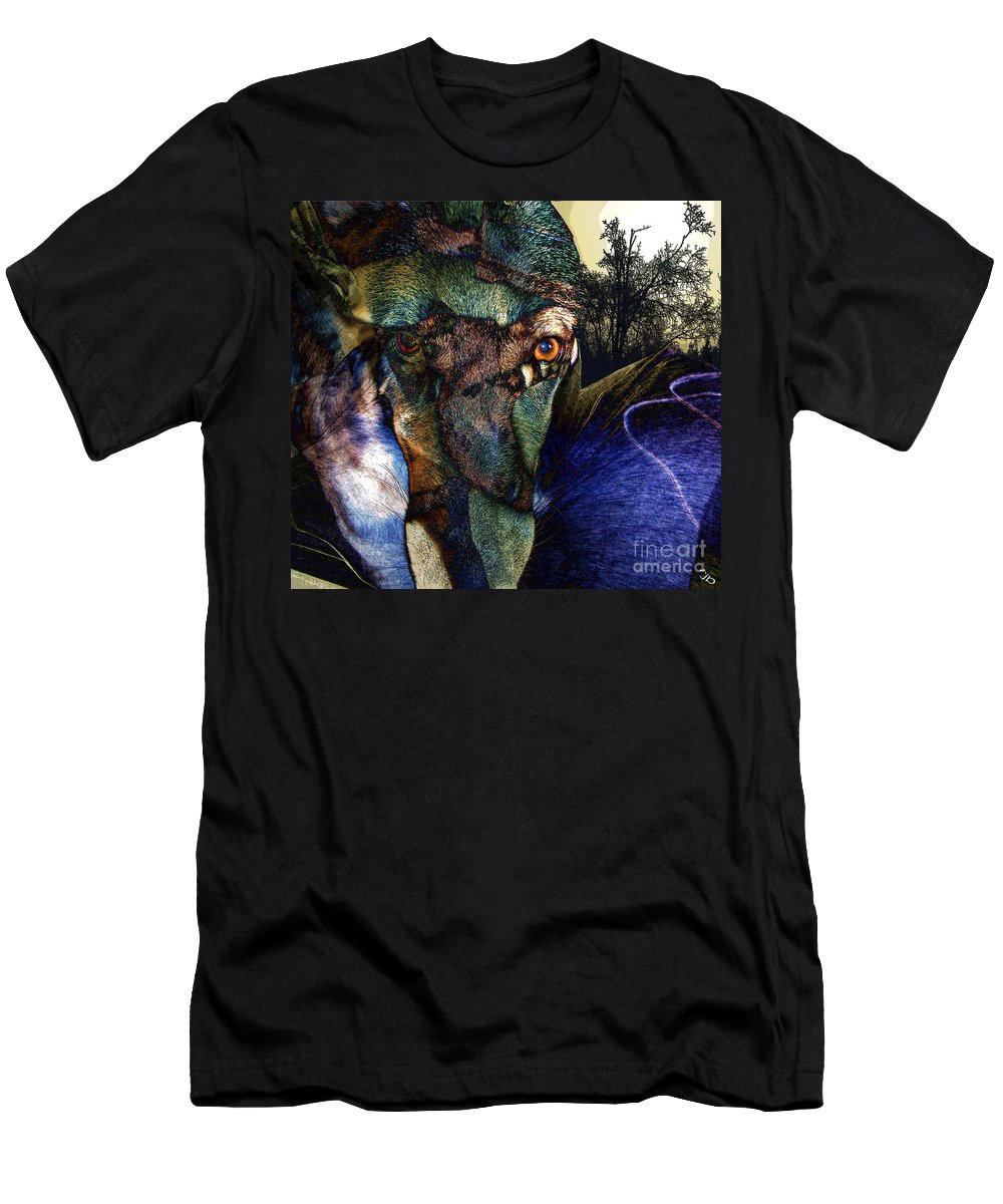 Dog T-Shirt featuring the photograph Domesticated by Ron Bissett
