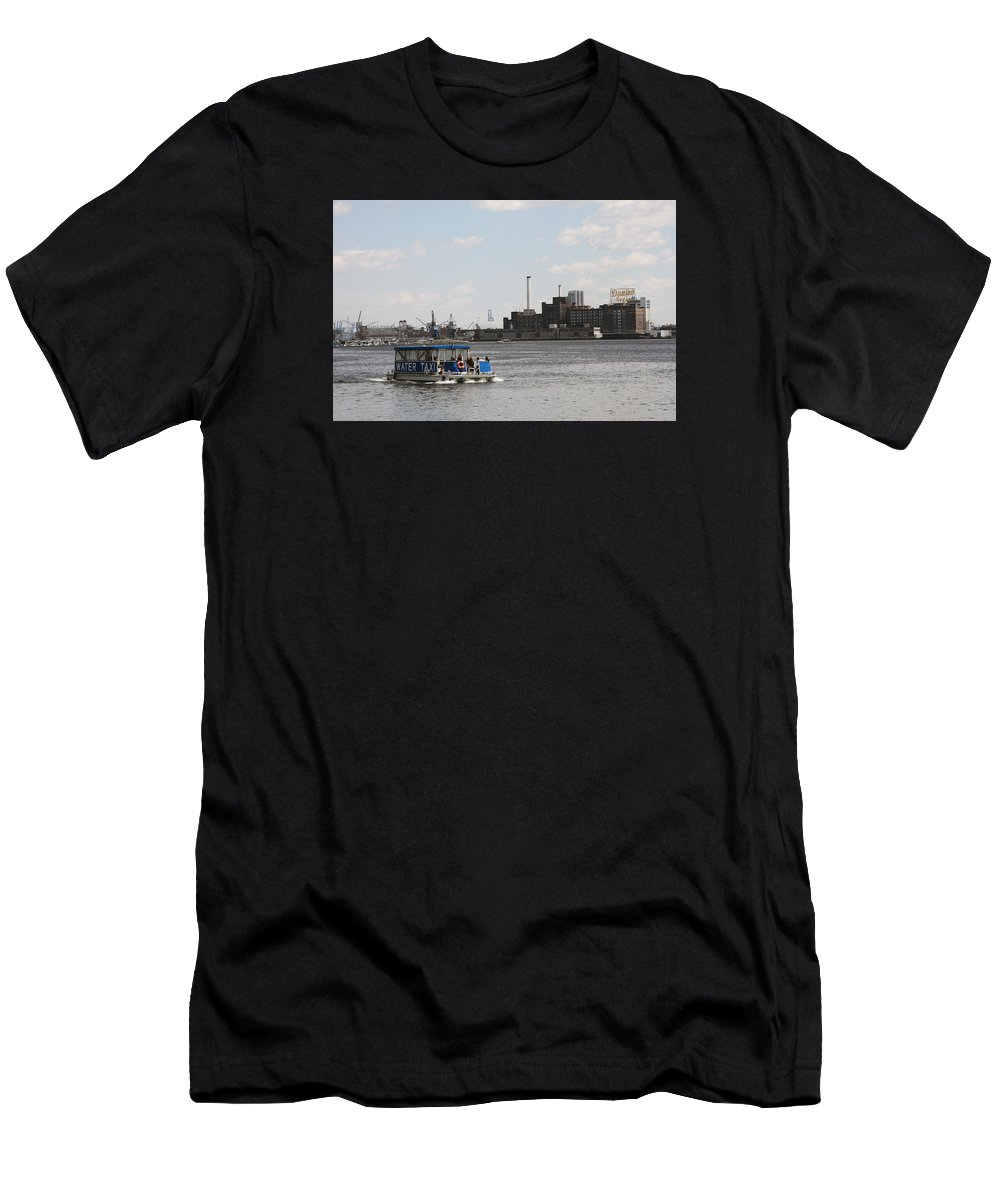 Plant Men's T-Shirt (Athletic Fit) featuring the photograph Domino Sugars Baltimore by Christiane Schulze Art And Photography
