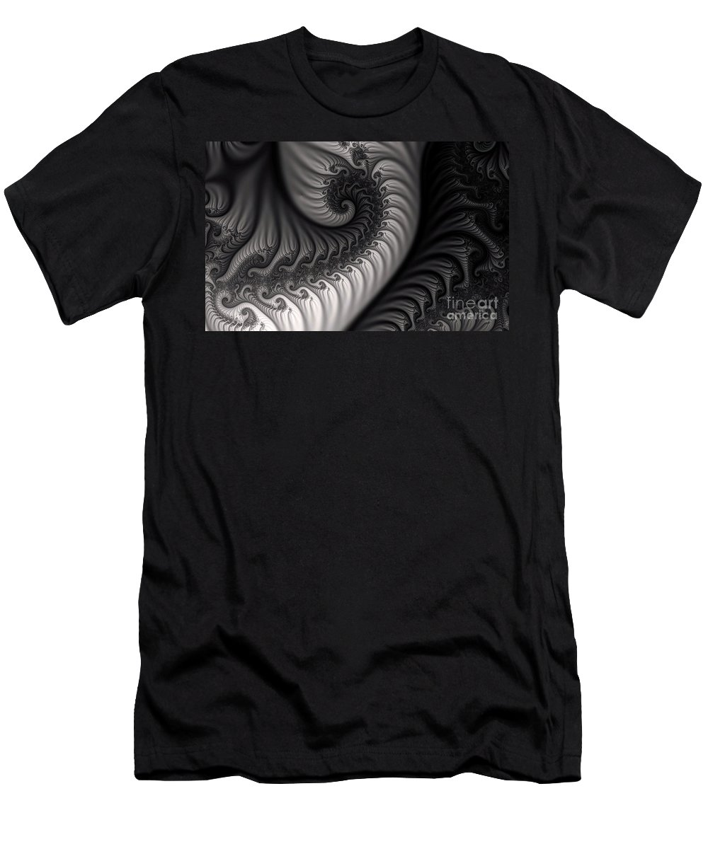Clay Men's T-Shirt (Athletic Fit) featuring the digital art Dragon Belly by Clayton Bruster