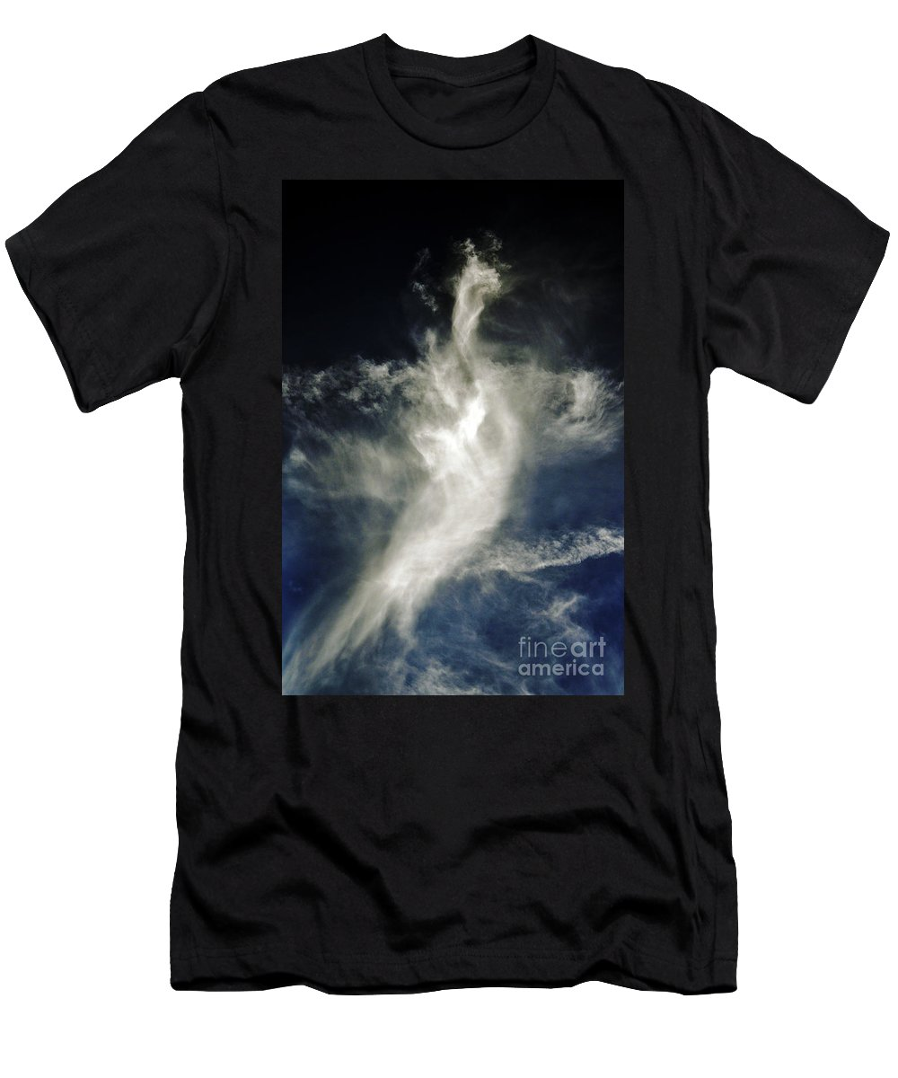 Clay Men's T-Shirt (Athletic Fit) featuring the photograph Dragon Cloud by Clayton Bruster