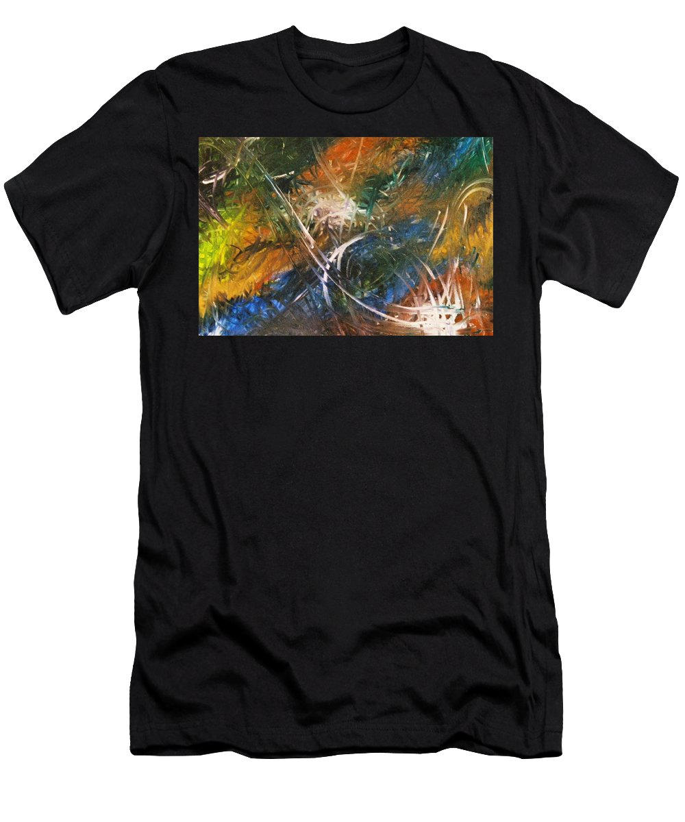 Dragon Men's T-Shirt (Athletic Fit) featuring the painting Dragon by Kim Rahal
