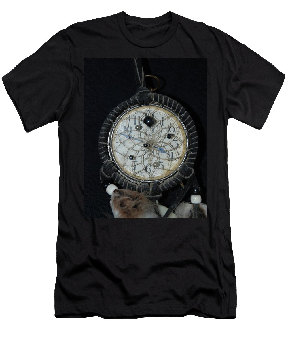 Dream Catcher Men's T-Shirt (Athletic Fit) featuring the photograph Dream Catcher Time by Rob Hans