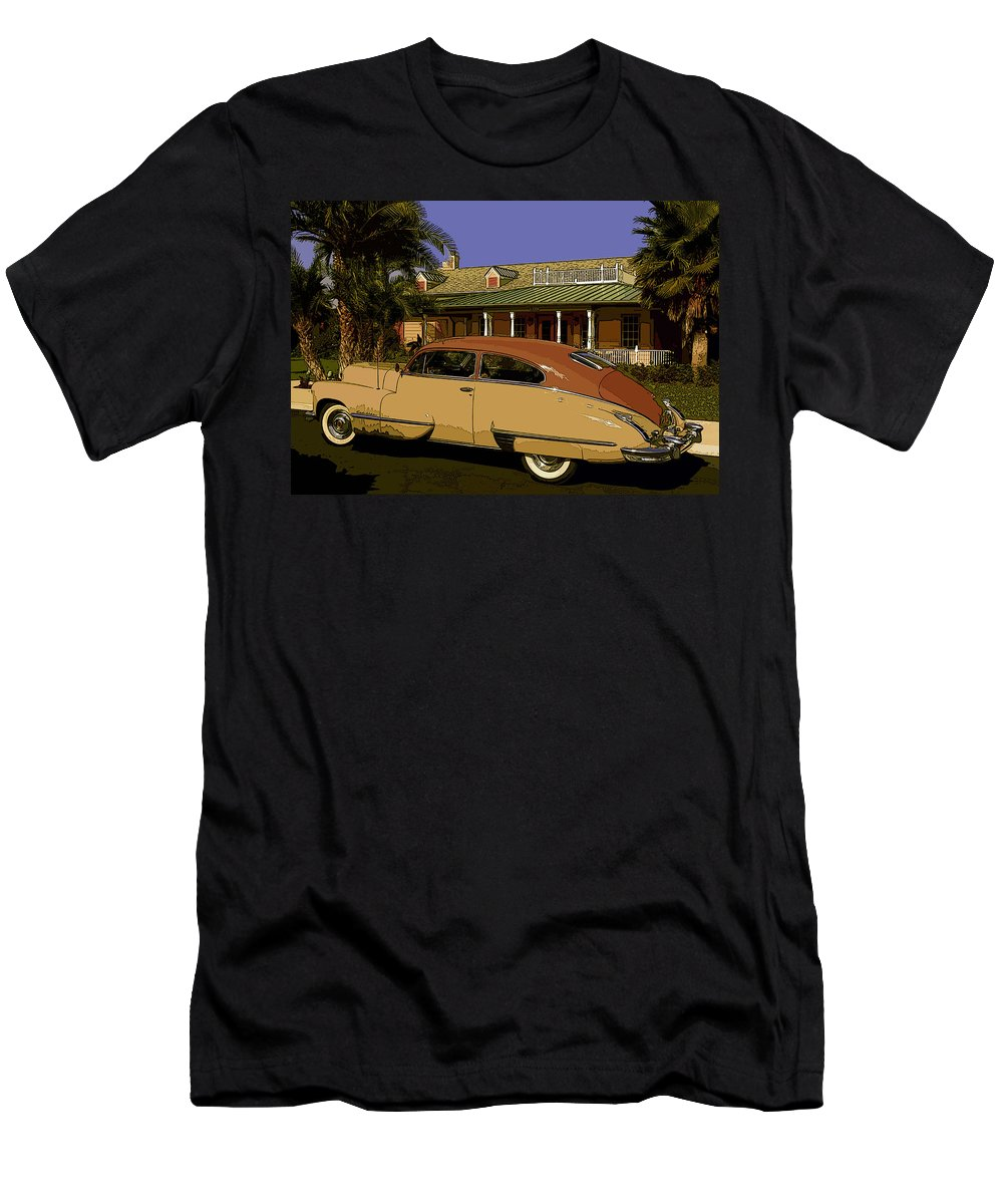 Cadillac Men's T-Shirt (Athletic Fit) featuring the photograph Dream Chaser by James Rentz