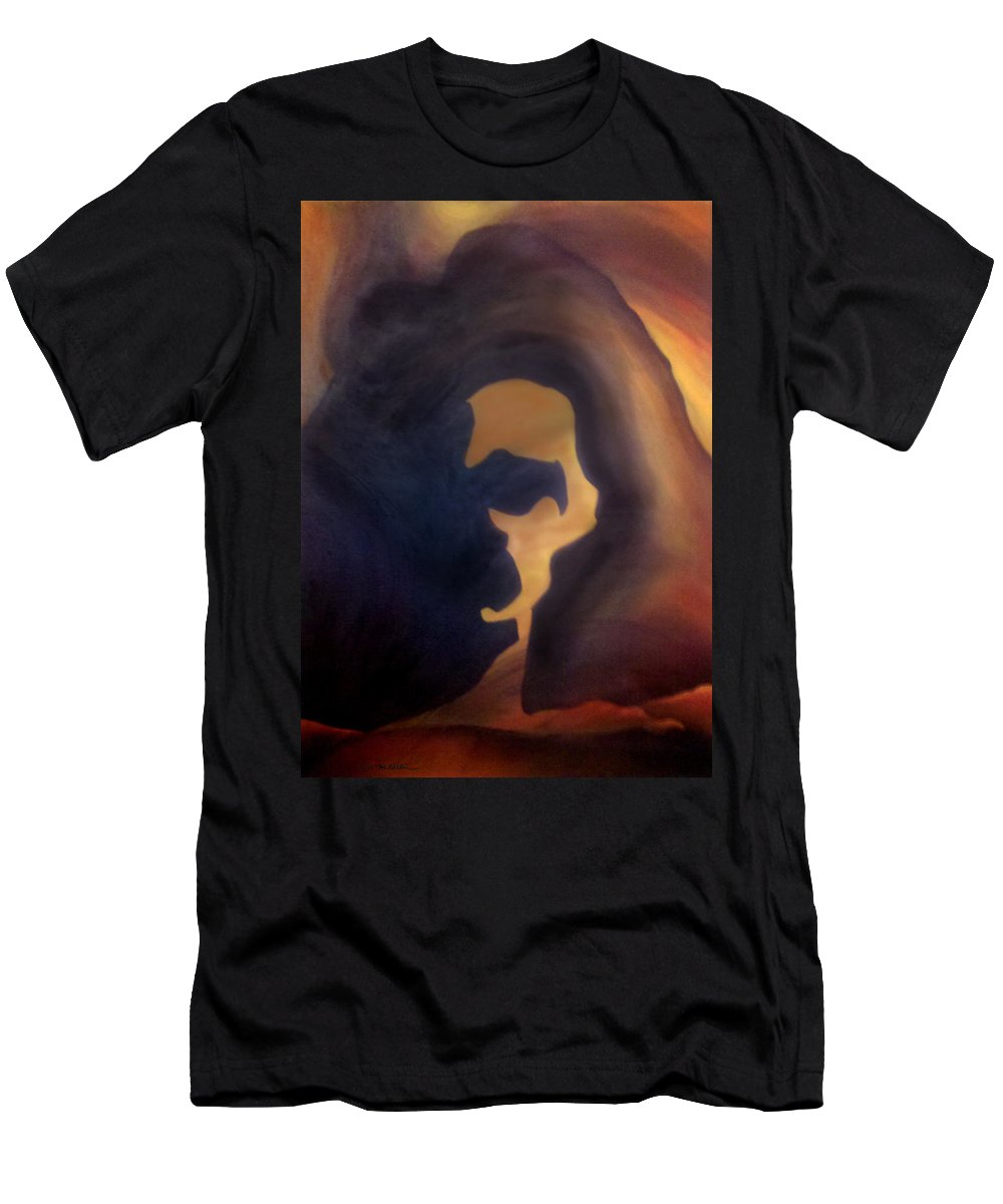 Dream Men's T-Shirt (Athletic Fit) featuring the painting Dream Image 4 by Kevin Middleton