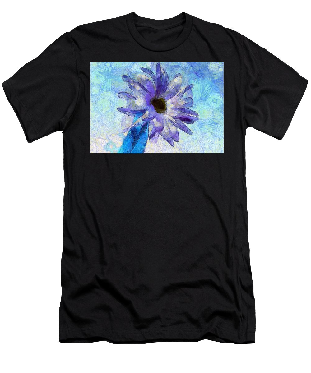 Daisy Men's T-Shirt (Athletic Fit) featuring the digital art Dream Of Happiness by Krissy Katsimbras