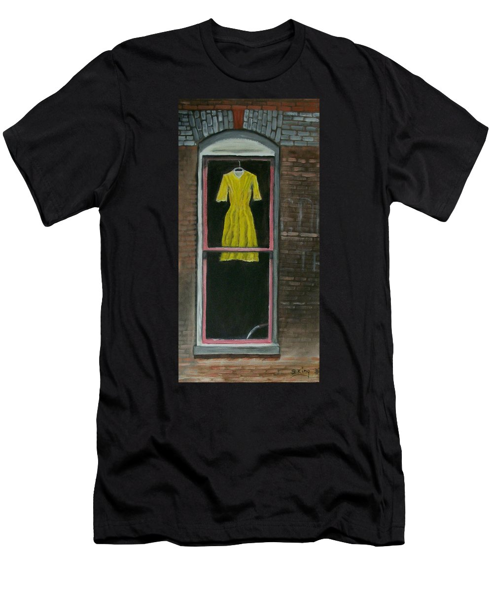 Original Men's T-Shirt (Athletic Fit) featuring the painting Dress Up by Stephen King