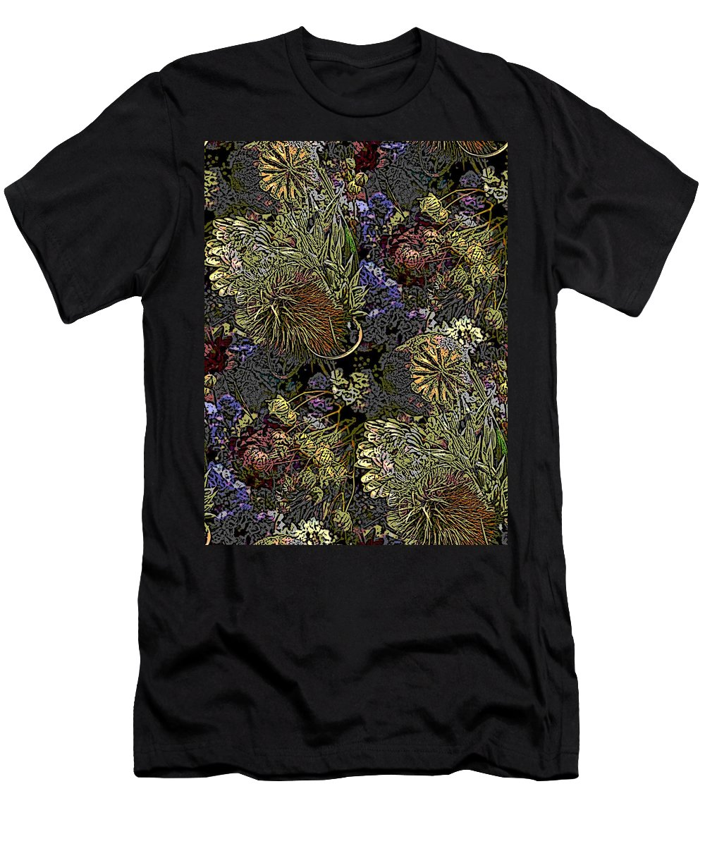 Dried Men's T-Shirt (Athletic Fit) featuring the digital art Dried Delight by Tim Allen