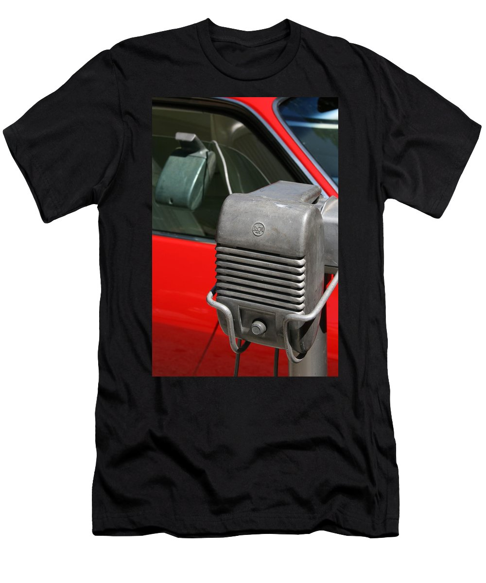 Photograph Men's T-Shirt (Athletic Fit) featuring the photograph Drivein by Gwyn Newcombe