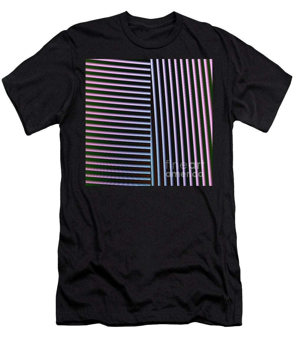 Digital Art Men's T-Shirt (Athletic Fit) featuring the digital art Duality II by Dragica Micki Fortuna