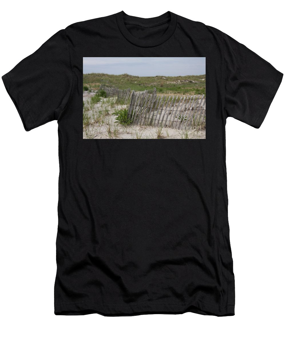 Dune Men's T-Shirt (Athletic Fit) featuring the photograph Dune Landscape by Christiane Schulze Art And Photography