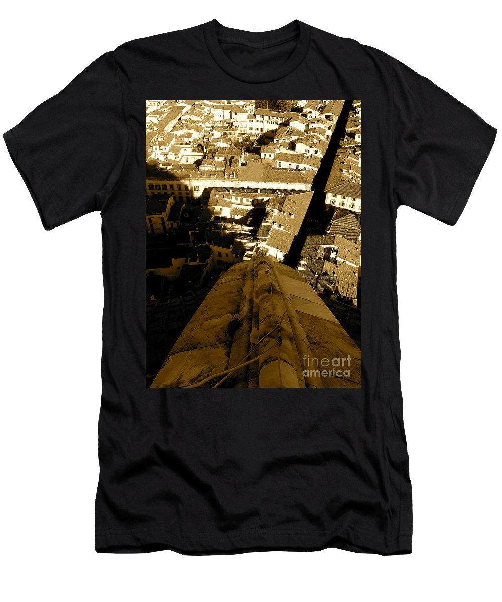 Florence Men's T-Shirt (Athletic Fit) featuring the photograph Duomo by Natalie Soroka