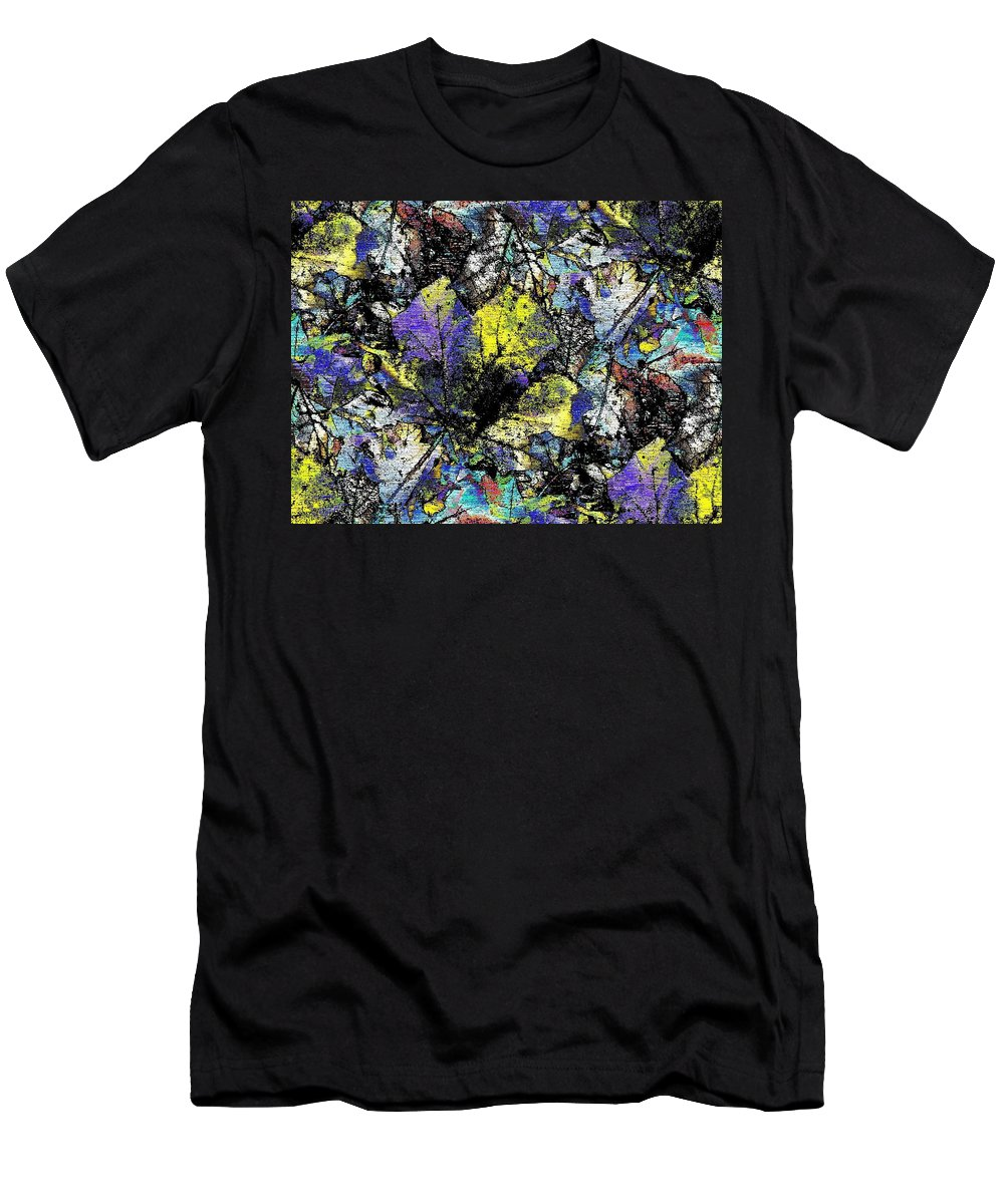 Autumn Men's T-Shirt (Athletic Fit) featuring the digital art Echoes Of Autumn by Tim Allen