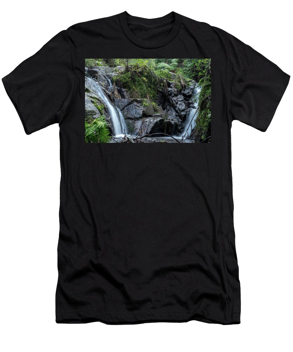 Landscape Men's T-Shirt (Athletic Fit) featuring the photograph Eden by Andrew Horn