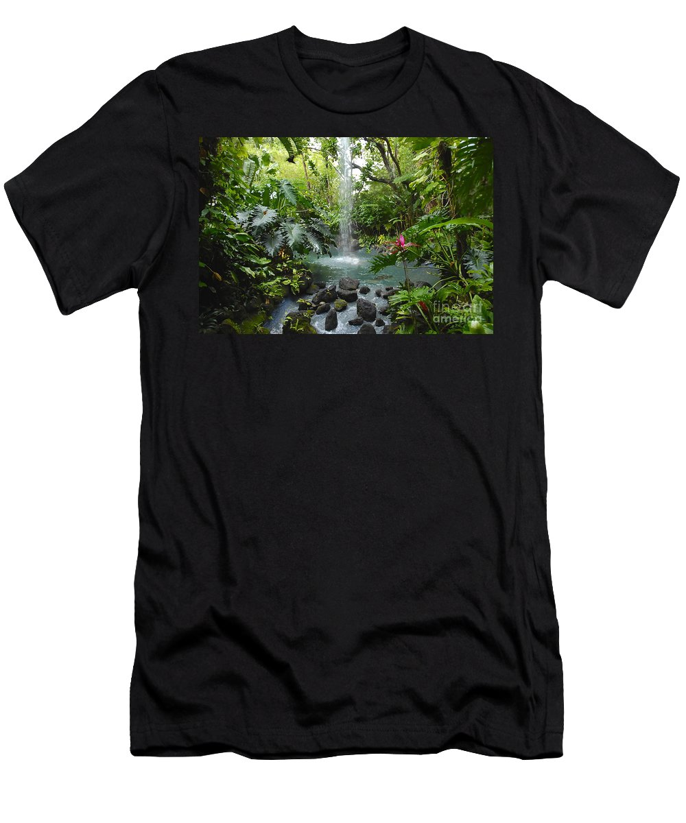 Garden Of Eden Men's T-Shirt (Athletic Fit) featuring the photograph Eden by David Lee Thompson