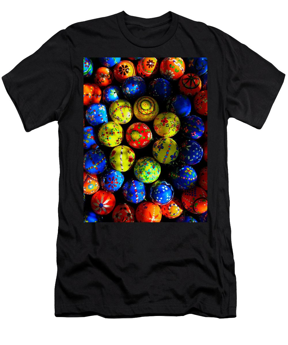 Easter Men's T-Shirt (Athletic Fit) featuring the photograph Egg - Parade by Juergen Weiss