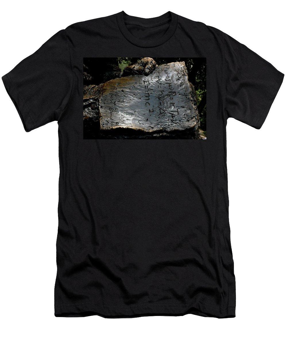 E=mc2 Men's T-Shirt (Athletic Fit) featuring the photograph Emc2 by LeeAnn McLaneGoetz McLaneGoetzStudioLLCcom