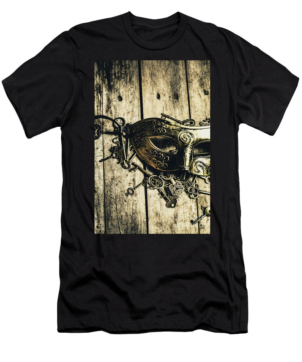 Emperor Men's T-Shirt (Athletic Fit) featuring the photograph Emperors Keys by Jorgo Photography - Wall Art Gallery