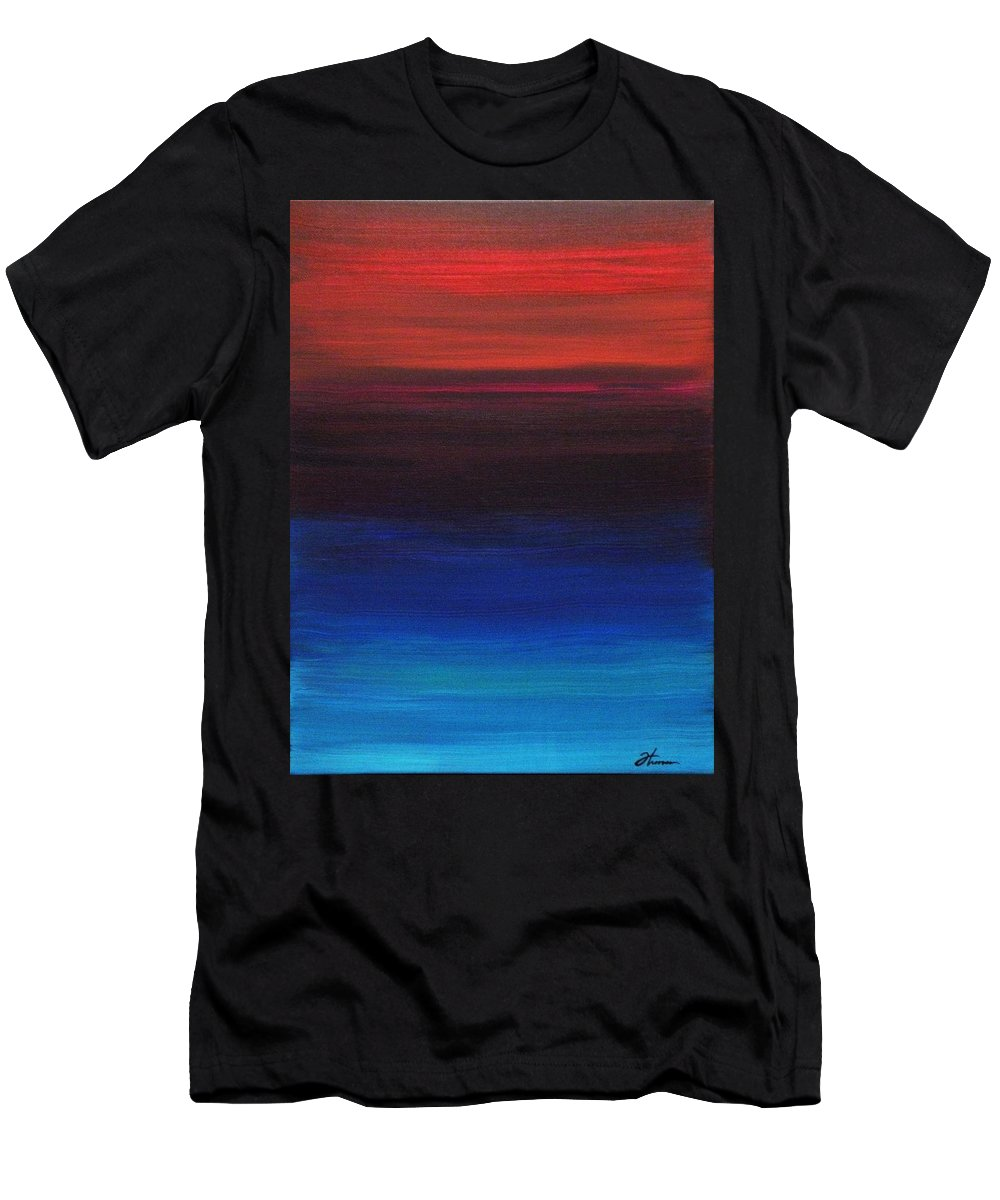 Original Men's T-Shirt (Athletic Fit) featuring the painting Endless by Todd Hoover